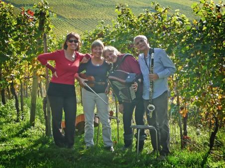Freie Improvisation im Weinberg 2012